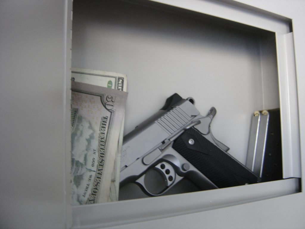 home storage of gun