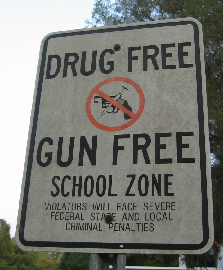 gun free school act permitless carry
