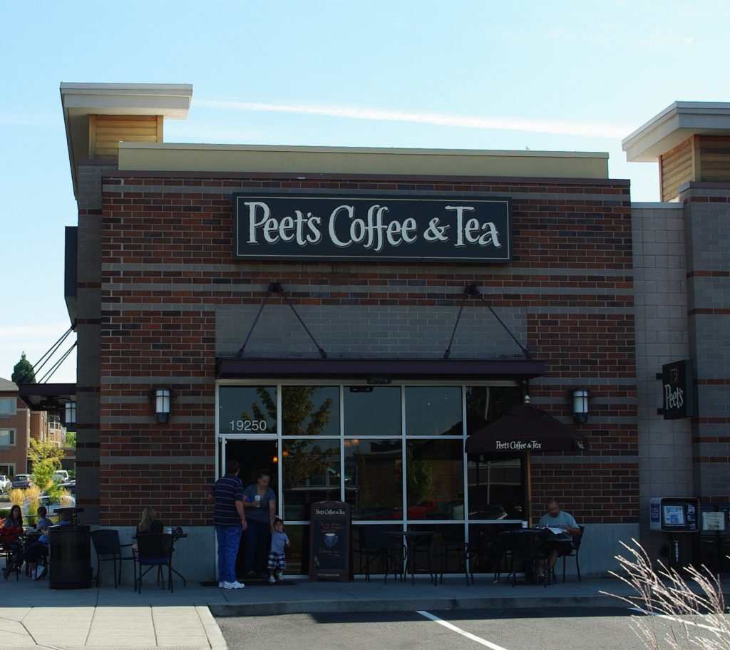 peets coffee gun policy