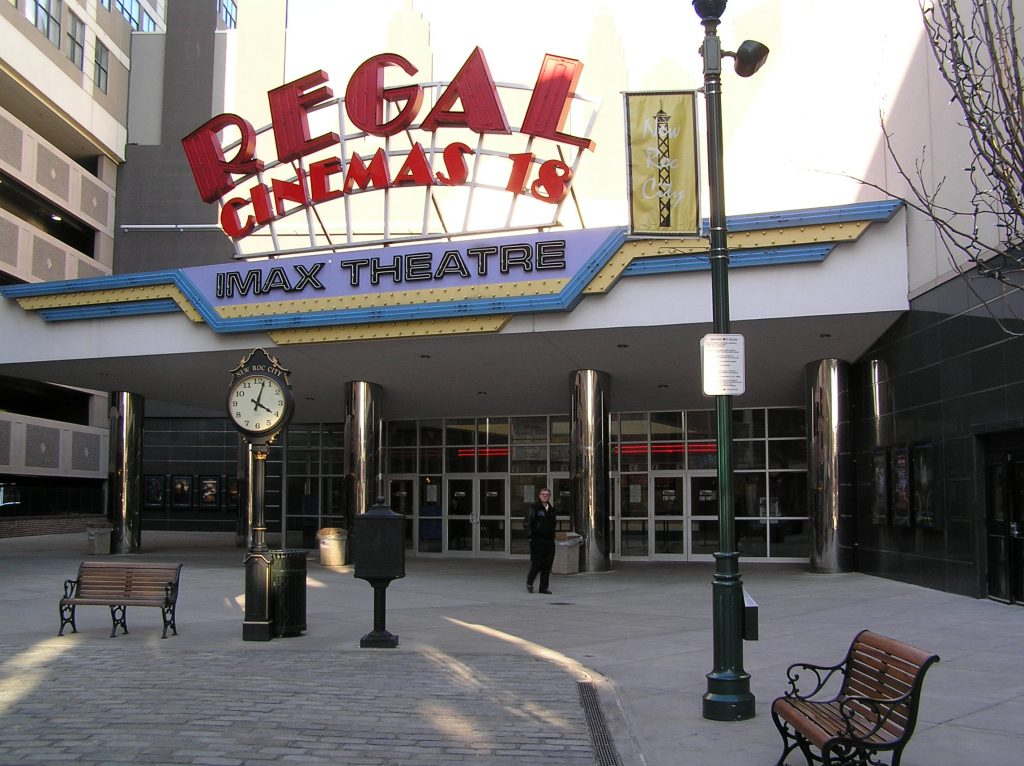 Regal theater cinemas gun policy
