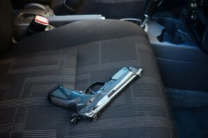 Gun in car