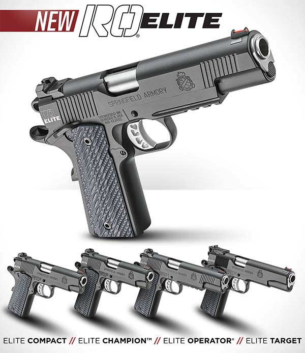 Springfield Armory's New RO Elite 1911 | Concealed Carry Inc