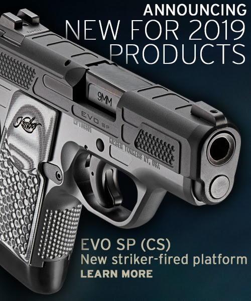 Kimber Enters Striker Pistol Market, And Other 2019 Releases