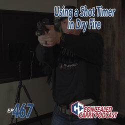 467 shot timer in dry fire