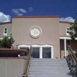New_Mexico_State_Capitol_east_entrance